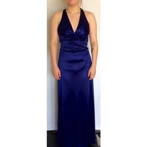 Windsor Prom Party Dress Blue Size 1/2